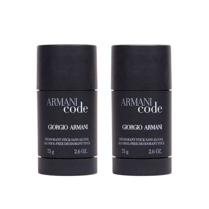 2-pack Armani Code Pour Homme Deostick 75ml