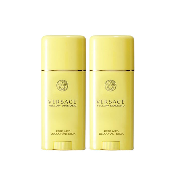 2-pack Versace Yellow Diamond Deostick 50ml