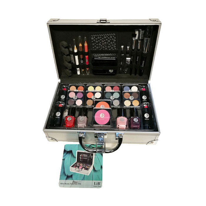 2K Silver Beauty Train Case ONE