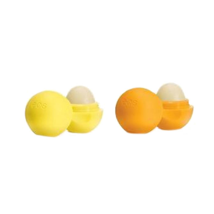 2st EOS Lip Balm Medicated Tangerine & Lemon Drop