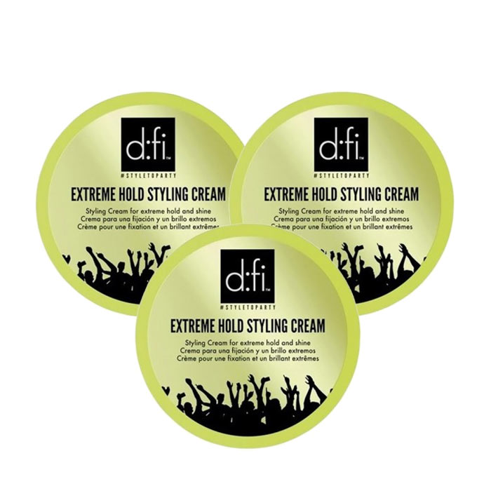 3-pack D:fi Extreme Cream 75g