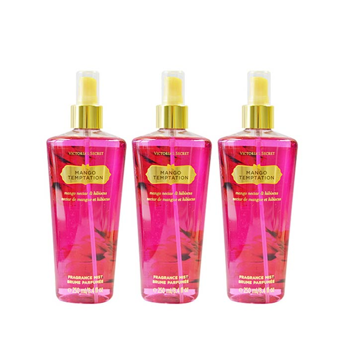 3-pack Victorias Secret Mango Temptation Fragrance Mist 250ml