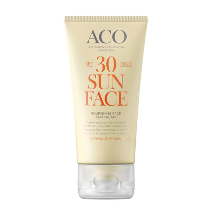 ACO Sun Face Cream Spf 30 50ml