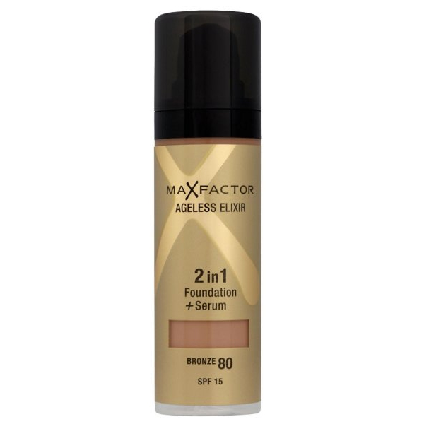 Ageless Elixir 2 in 1 Foundation + Serum 30ml Bronze