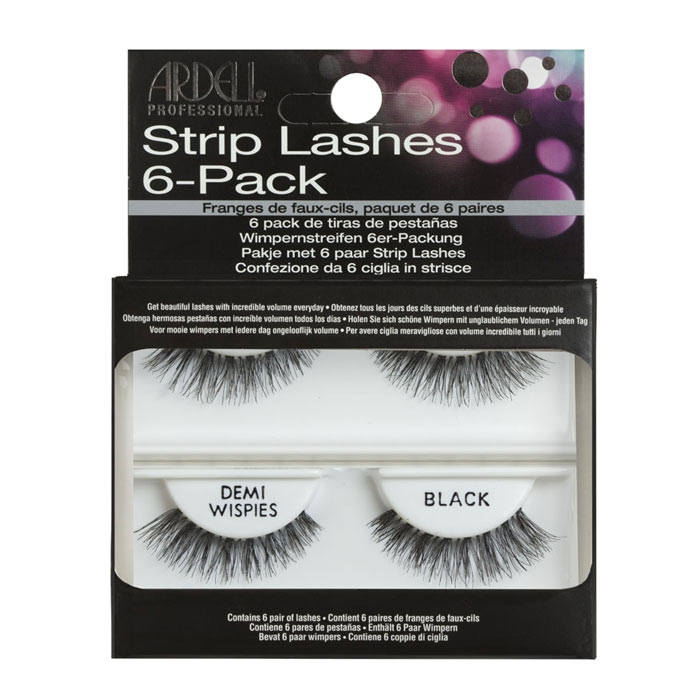 Ardell Professional 6-pack Strip Lashes Demi Wispies