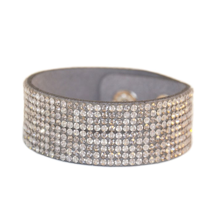 Swish Armband Blingbling Gray