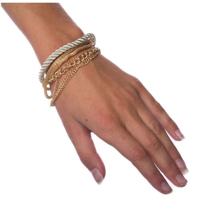 Armband Layered - Silver