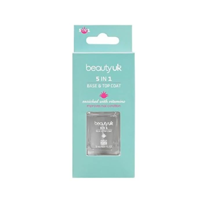 Beauty UK 5 In 1 Base & Top Coat