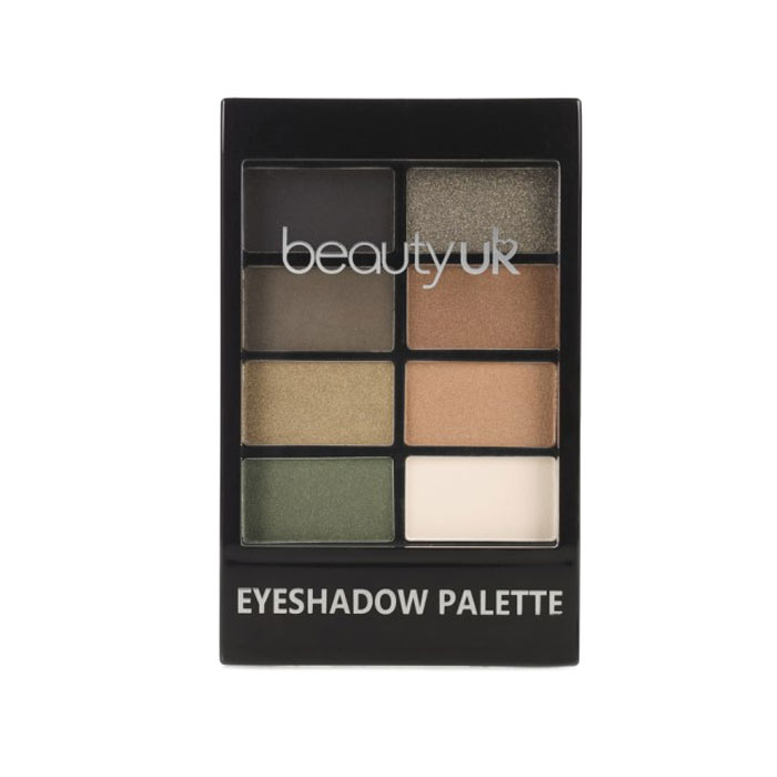 Beauty UK Eyeshadow Palette no.5 - Green with Envy