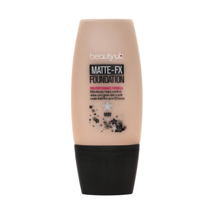 Beauty UK Matte FX Foundation - No.1 Ivory