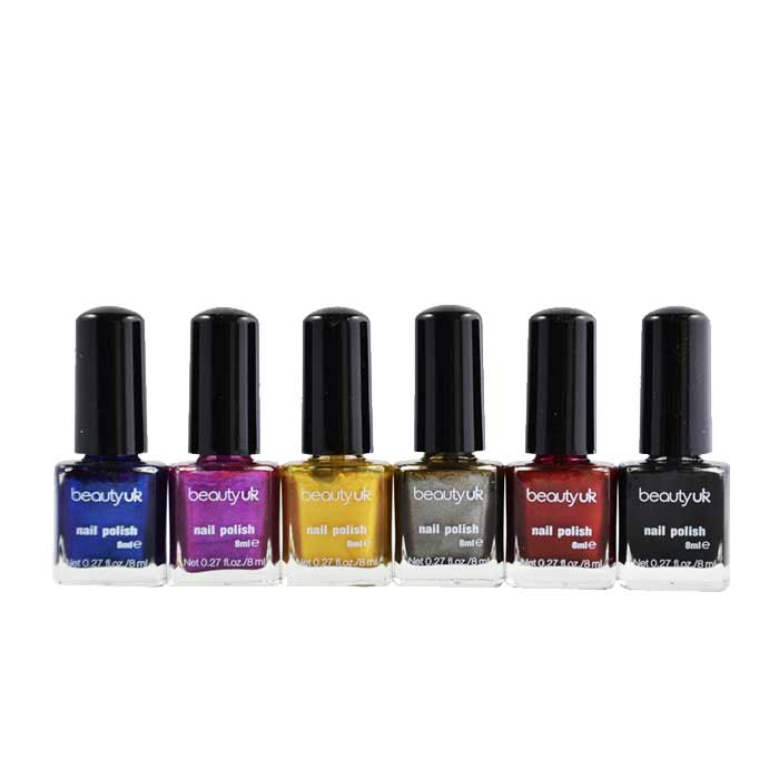 Beauty UK Nail Gift Set No.2 - Midnight Minx