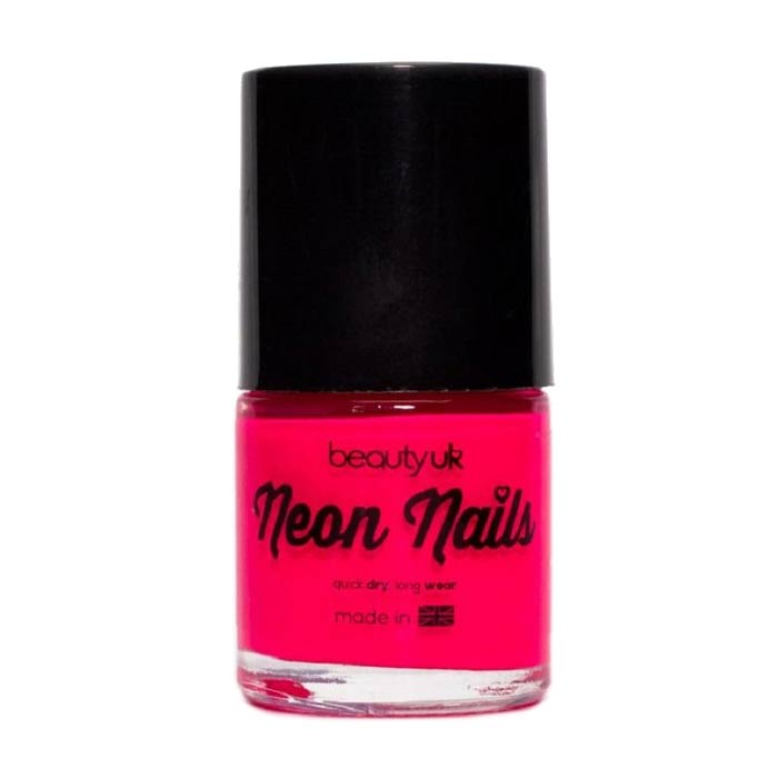 Beauty UK Neon Nail Polish - Magenta