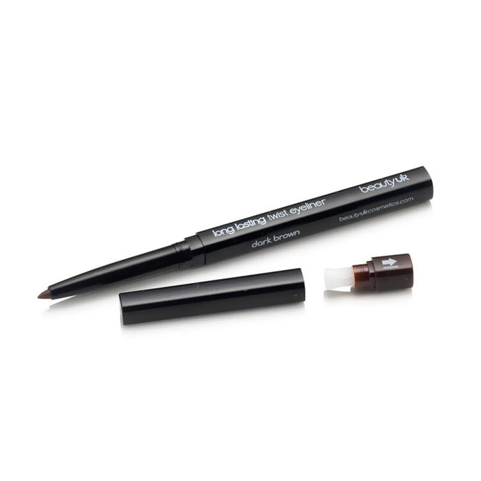 Beauty UK Twist Eye Liner Pencil - Dark Brown