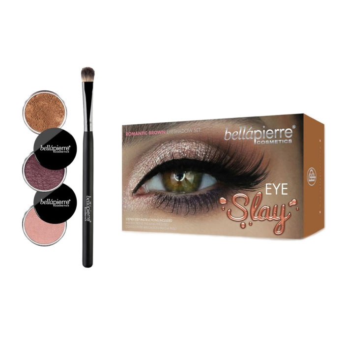 Bellapierre Eye Slay Kit - Romantic Brown