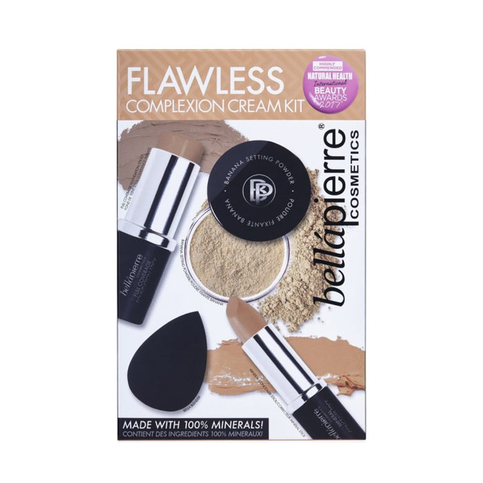 Bellapierre Flawless Complexion Cream Kit Dark