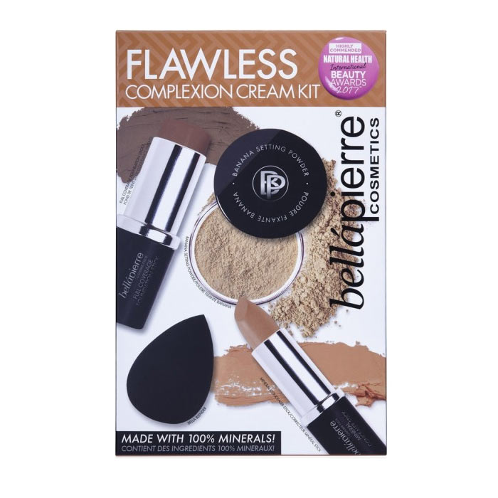 Bellapierre Flawless Complexion Cream Kit Deep