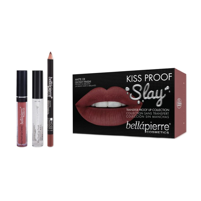 Bellapierre Kiss Proof Slay Kit - Muddy Rose