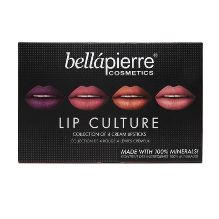 Bellapierre Lip Culture Collection 4 Cream Lipsticks