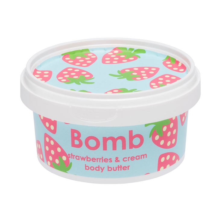 Bomb Cosmetics Body Butter Strawberries & Cream