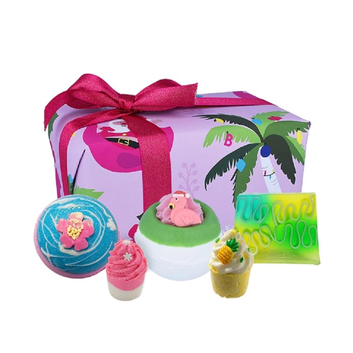 Bomb Cosmetics Christmas Tropicana Gift Box
