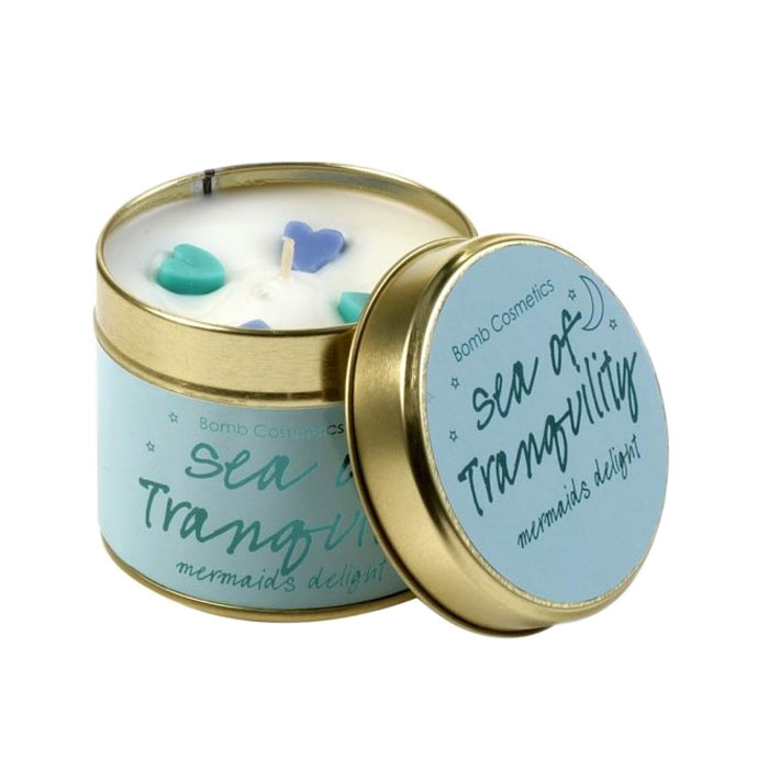 Bomb Cosmetics Tin Candle Sea Of Tranquility