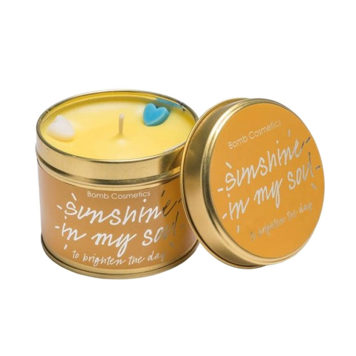 Bomb Cosmetics Tin Candle Sunshine In My Soul