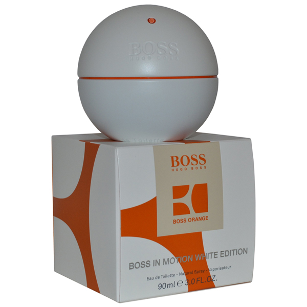 Boss In Motion White Spray 90ml