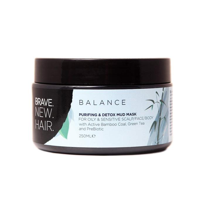 Brave. New. Hair. Balance Purifying & Detox Mud Mask 250ml