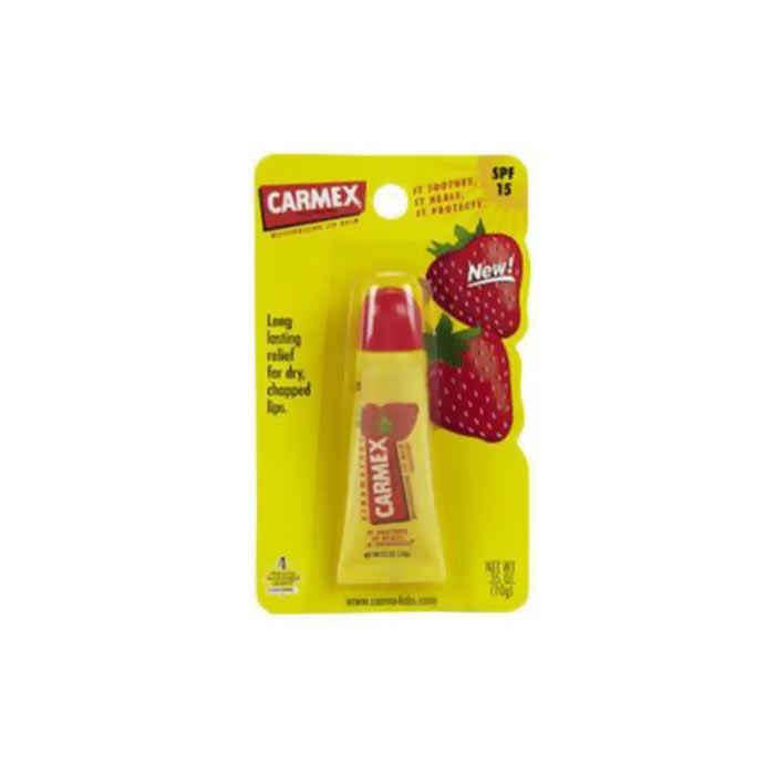 Carmex Lip Balm Tube Strawberry 10g