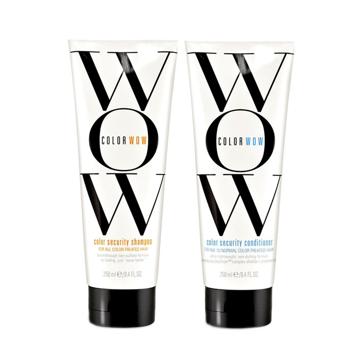 Color Wow Color Security Shampoo + Conditioner Fine To Normal Hair
