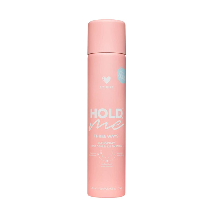Design.Me Hold.Me Three Ways Hairspray 330ml