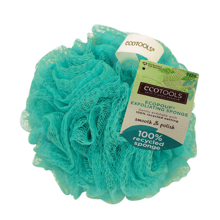 Eco Tools Exfoliating Sponge Aqua