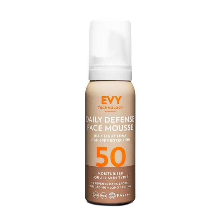 EVY Daily Defence Face Mousse SPF 50 - 75ml