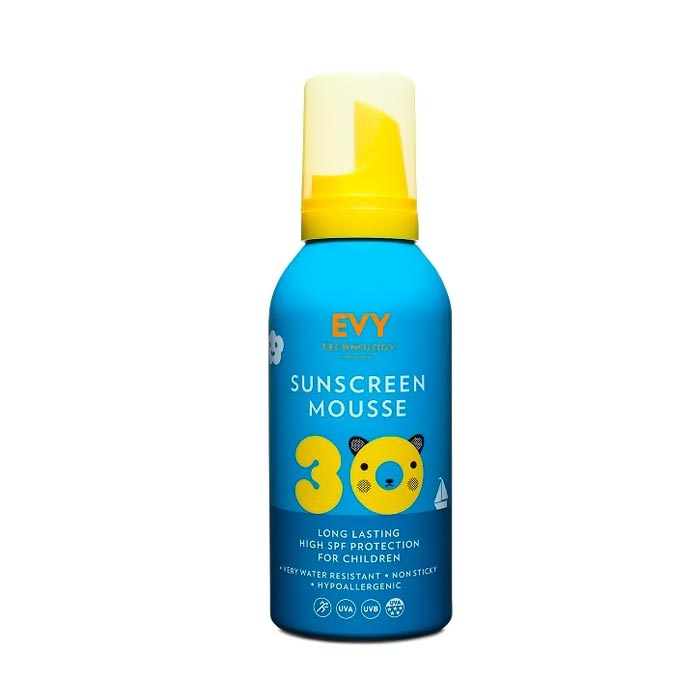 EVY Sunscreen Mousse Kids SPF 30 - 150ml