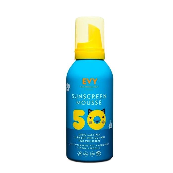 EVY Sunscreen Mousse Kids SPF 50 - 150ml