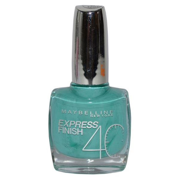Express Finish 40 Nail Varnish 10ml Turquoise Lagoon
