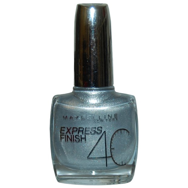 Express Finish Nail Varnish 10ml Silver Speed