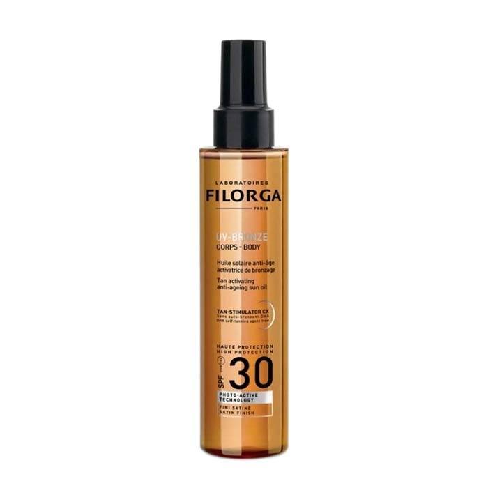 Filorga Uv-Bronze Tan Activating Anti- Ageing Sun Oil Spf30 150ml