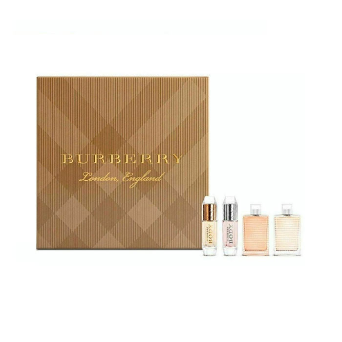 Giftset Burberry The Collection For Women Mini 4pcs