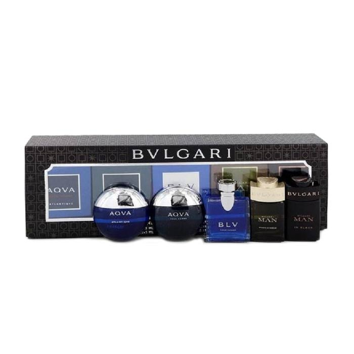 Giftset Bvlgari The Men s Gift Collection 5x5ml