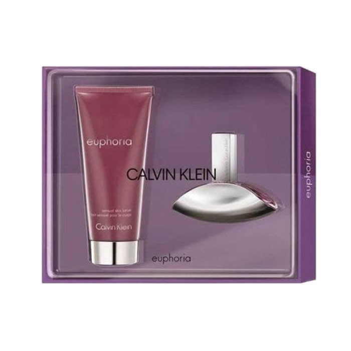 Giftset Calvin Klein Euphoria Edp 30ml + Shower Cream 100ml