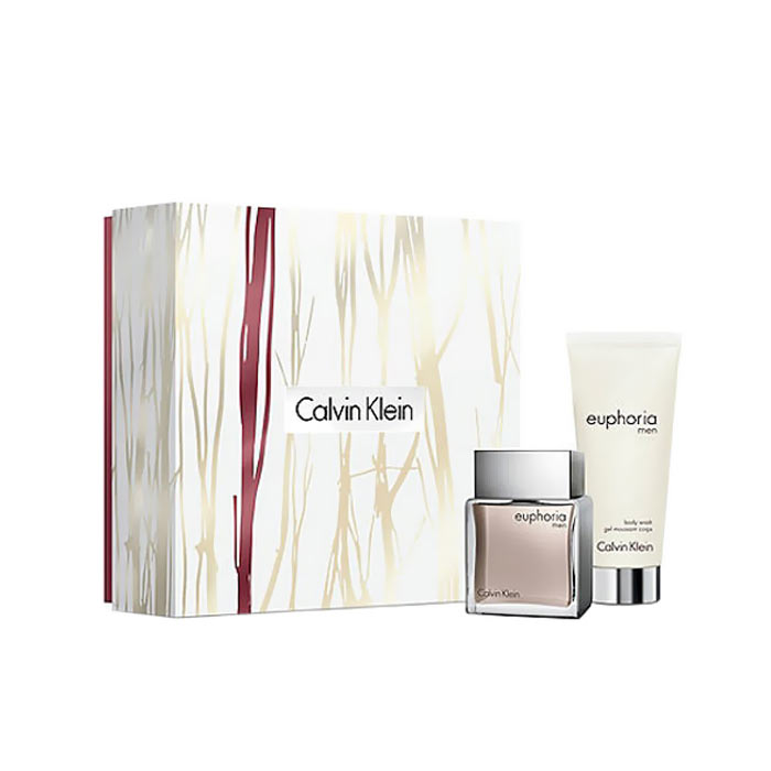Giftset Calvin Klein Euphoria For Men Edt 50ml + Body Wash 100ml