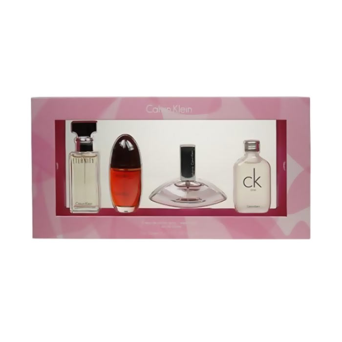 Giftset Calvin Klein Mix Women 4 x 15ml