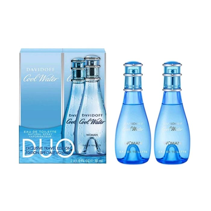 Giftset Davidoff Cool Water for Her Edt 30ml x 2