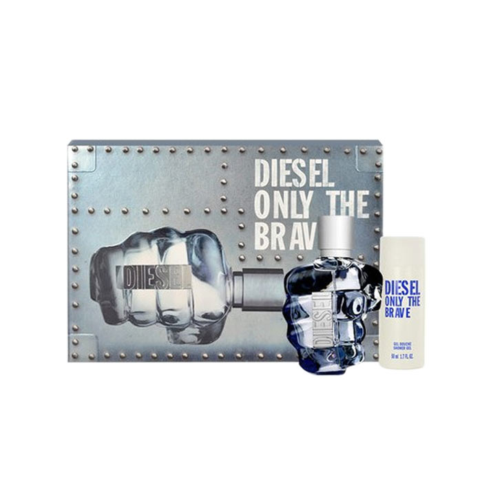 Giftset Diesel Only the Brave Edt 75ml + Shower Gel 150ml
