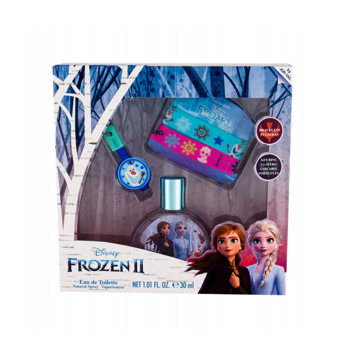 Giftset Disney Frozen II Edt 30ml + Bracelet + Key Ring