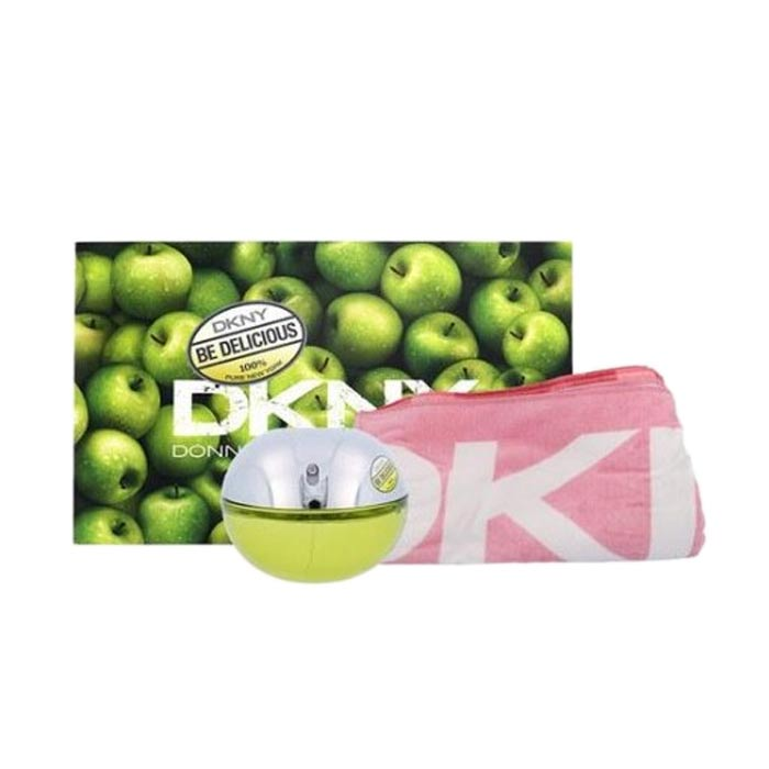 Giftset DKNY Be Delicious Edp 100ml + Towel