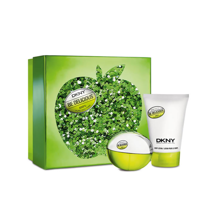 Giftset DKNY Be Delicious Edp 50ml + Body Lotion 100ml
