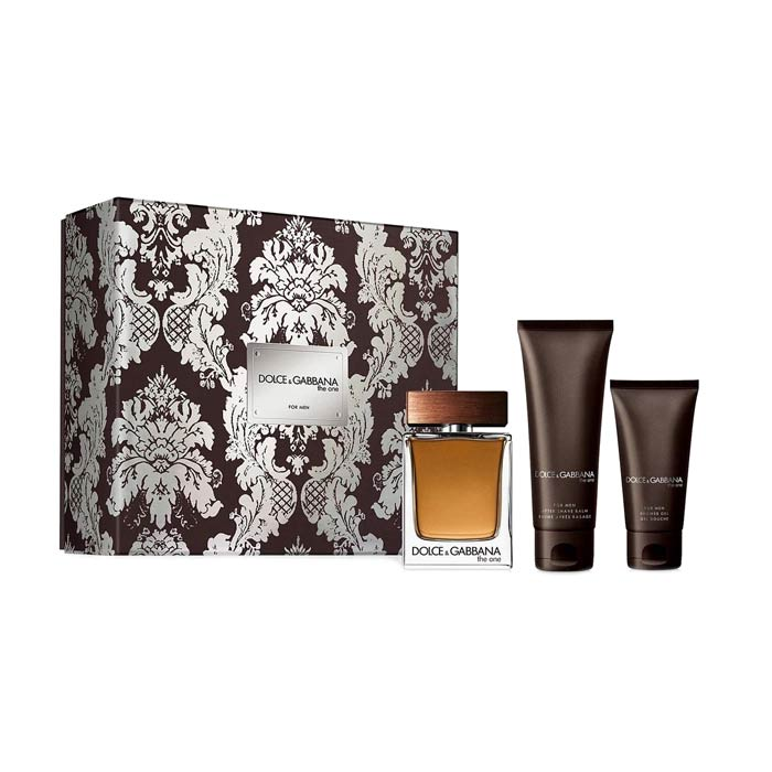 Giftset Dolce & Gabbana The One Edt 100ml + ASB 50ml + SG 50ml