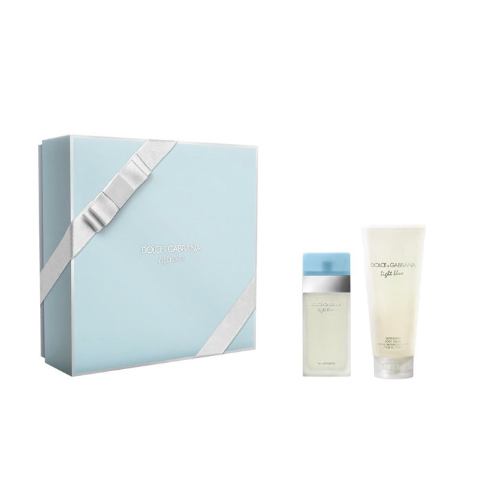Giftset Dolce&Gabbana Light Blue Edt 50ml + Body Cream 100 ml